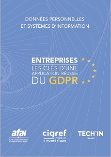Livre blanc techin france RGPD