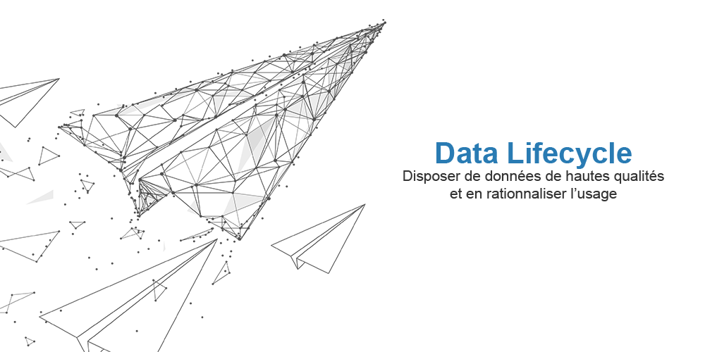 Paper plane - data lifecycle